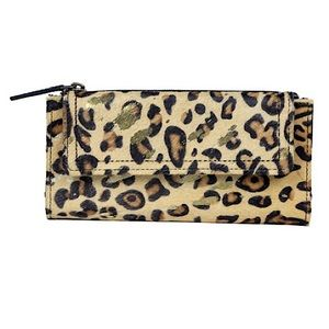 Myra Bag™️ Animal Print Leather Wallet (Hair-on)
